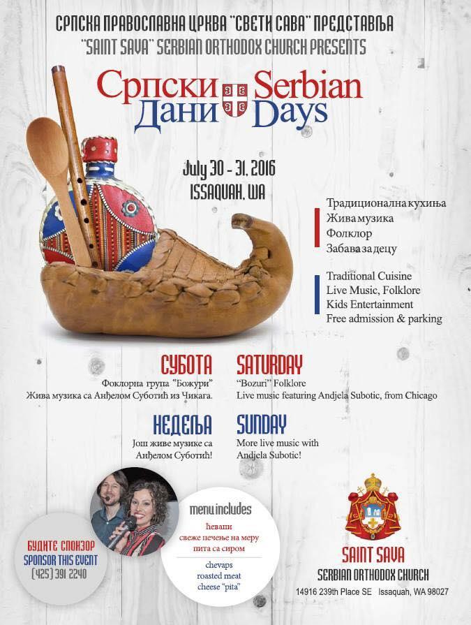 Serbian Days Poster